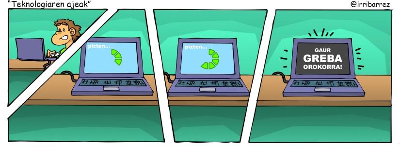teknologiaren ajeak